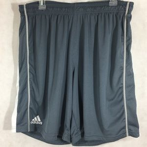 Adidas Climacool Shorts Men's Size XL Grey White
